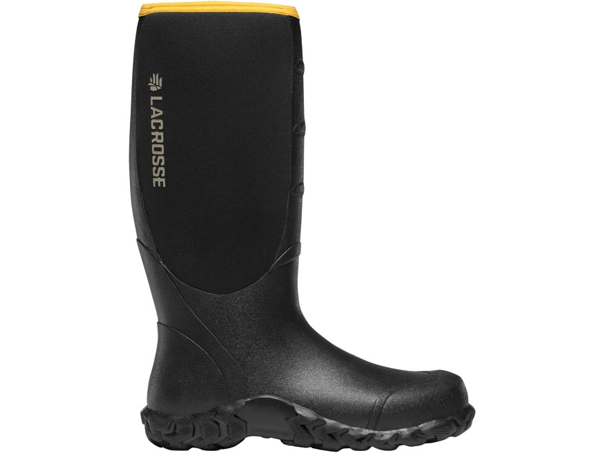 "LaCrosse 5mm Alpha Lite 16"" Waterproof Insulated Hunting Boots Rubber Over Neoprene Men's"