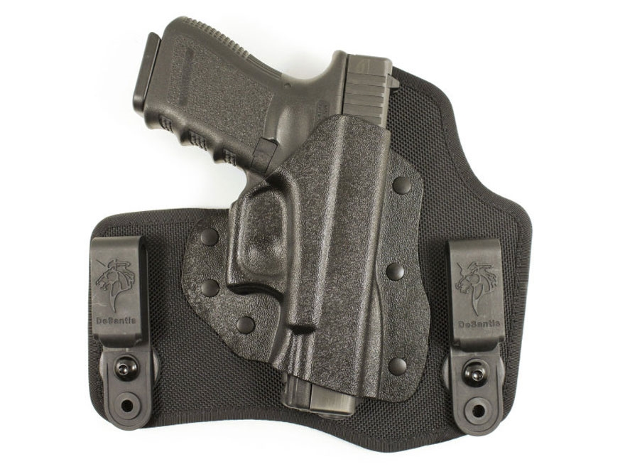 DeSantis Invader Inside the Waistband Holster S&W M&P Shield 45 ACP Kydex and Leather B...
