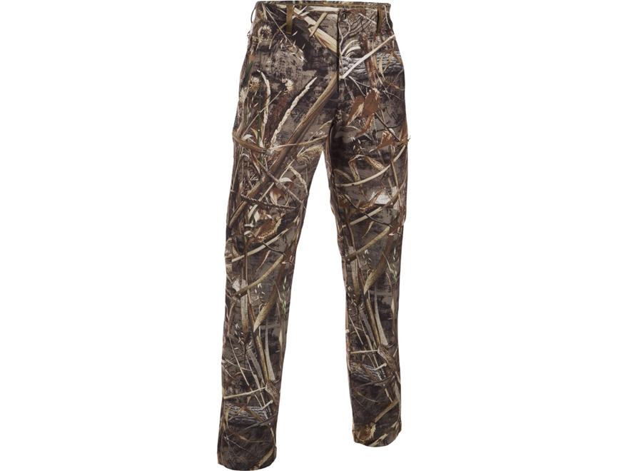 Under Armour Men's UA Deadload Field Pants Polyester Camo