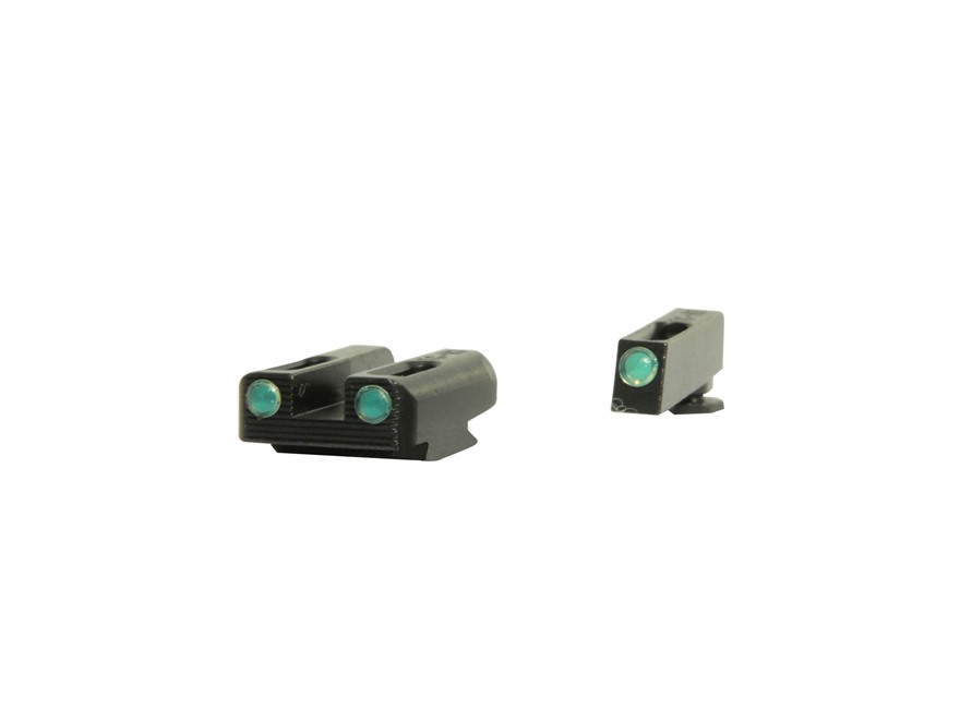 TRUGLO TFO Sight Set Glock 42, 43 Tritium / Fiber Optic