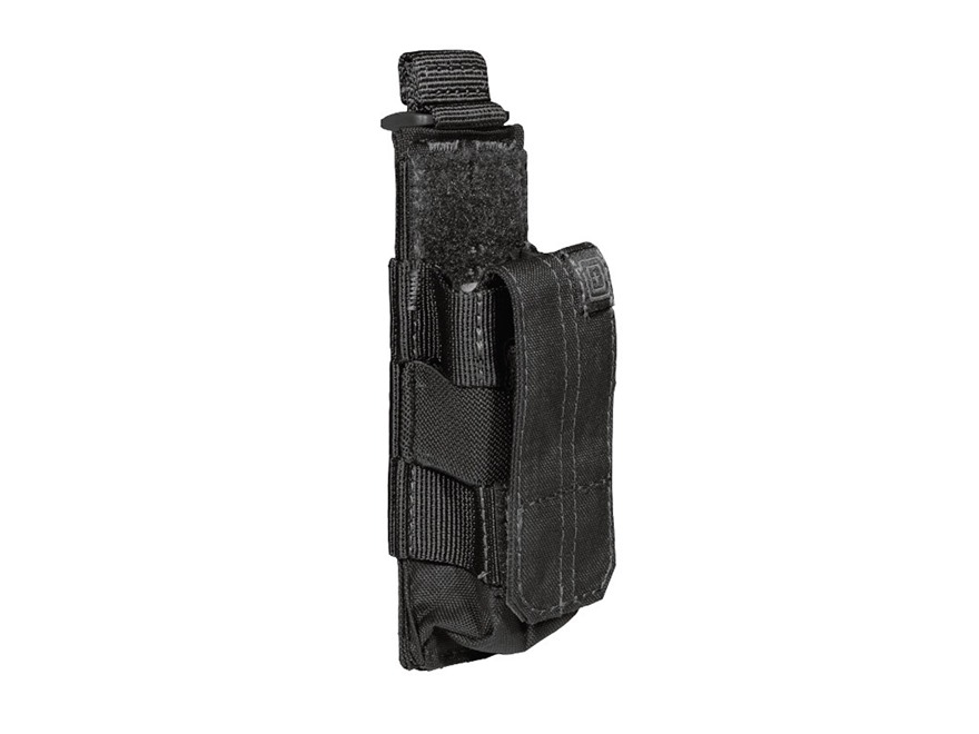 5.11 Single Pistol Magazine Pouch with Bungee Cover Nylon