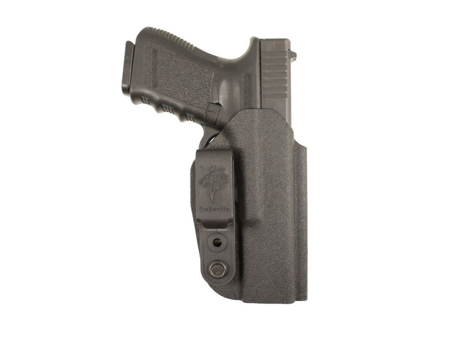 DeSantis Slim-Tuk Inside The Waistband Holster Ambidextrous S&W M&P Shield 45 ACP Kydex...