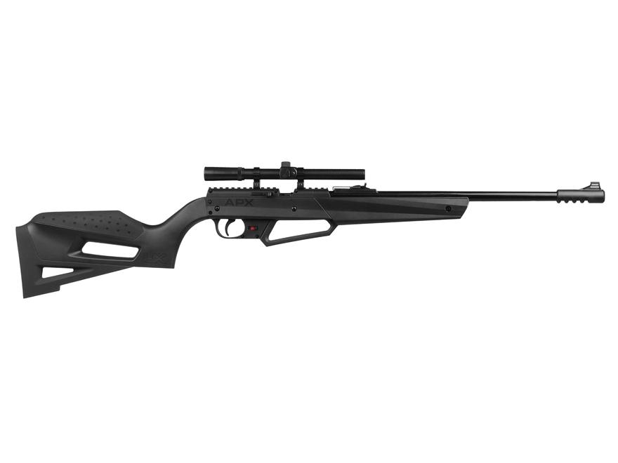 Umarex NXG APX 490 Break Barrel Air Rifle 177 Caliber Pellet Black Synthetic Stock with...