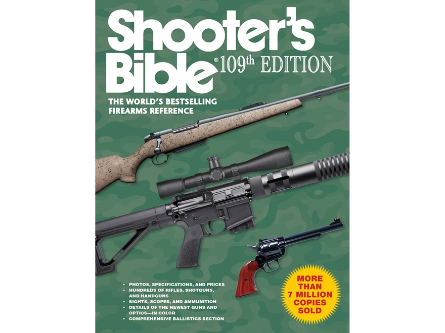 """""""Shooter's Bible, 109th Edition"""" Book by Jay Cassell"""
