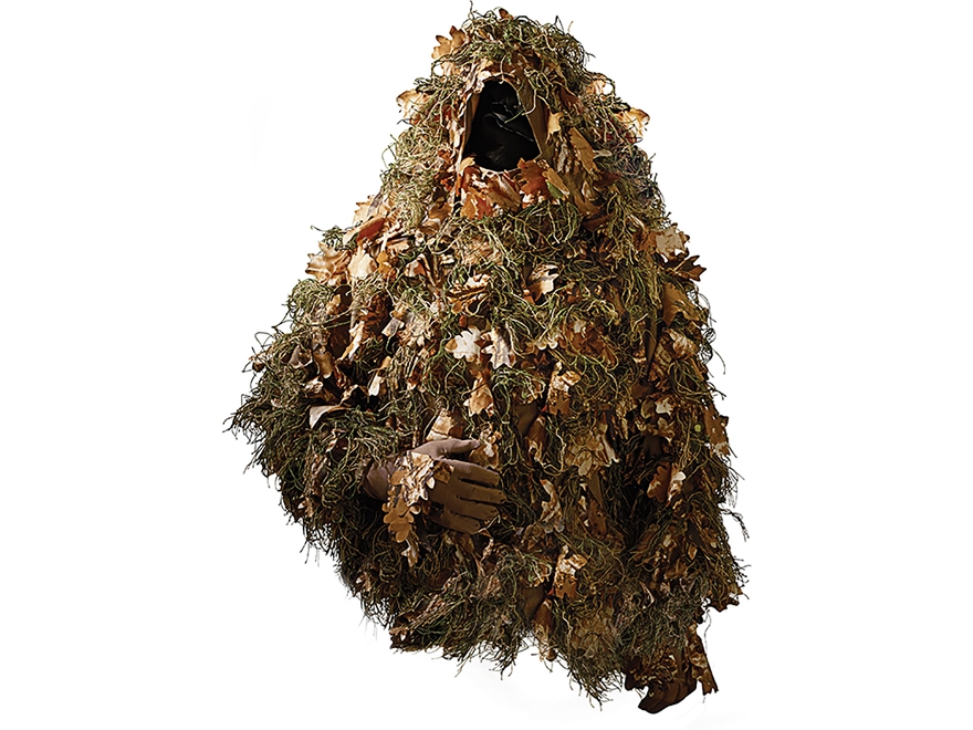 ScentBlocker Men's The Beast Ghillie Jacket Polyester Camo