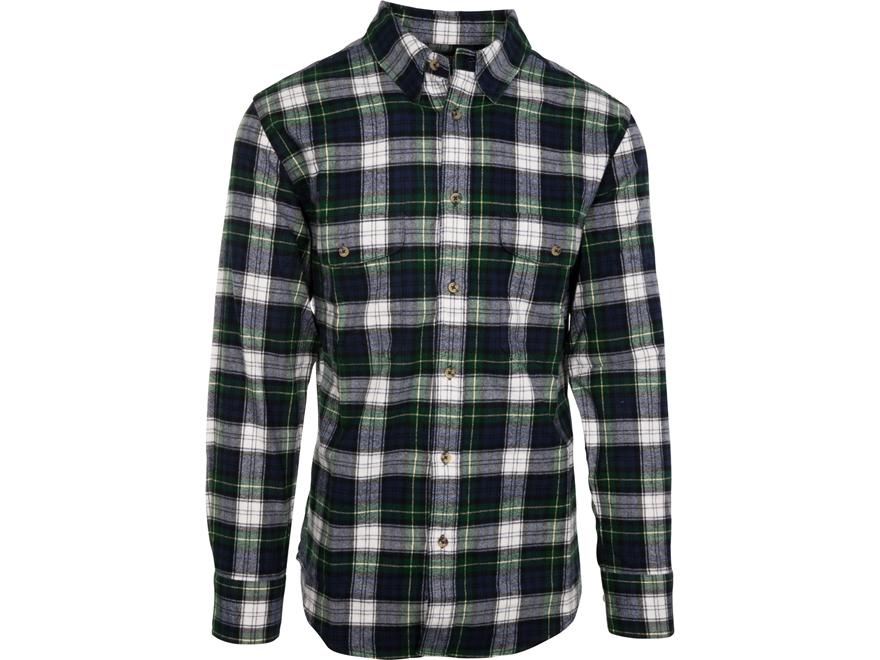 Midwayusa men 39 s flannel long sleeve shirt black watch for Black watch flannel shirt