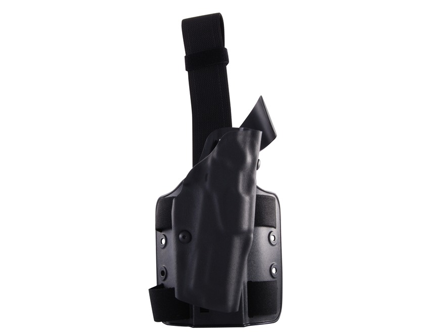 Safariland 6354 ALS Tactical Drop Leg Holster Right Hand S&W M&P 45 ACP Polymer Black