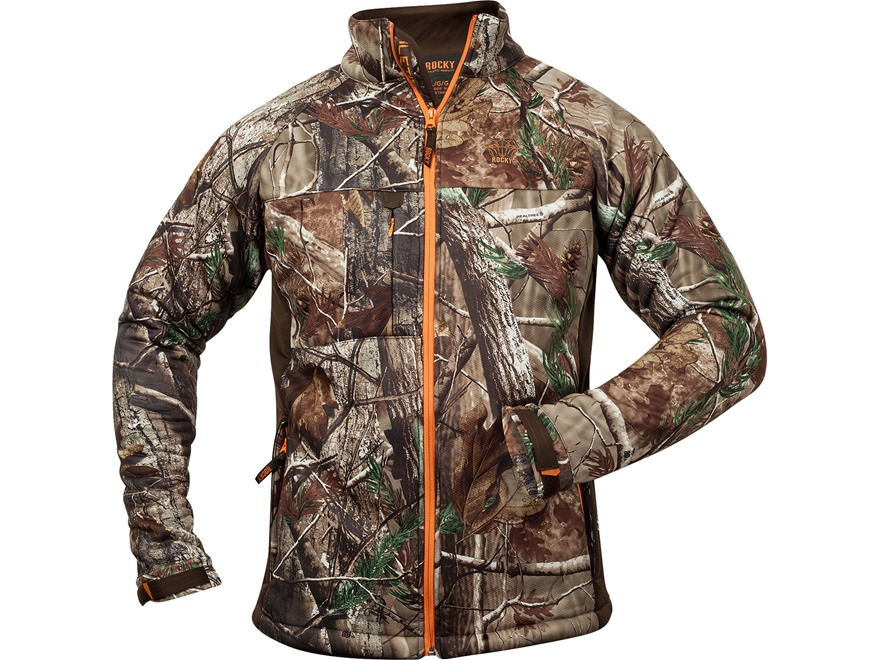Rocky Men's L3 MaxProtect Softshell Jacket Polyester Realtree AP Camo Large 42-44