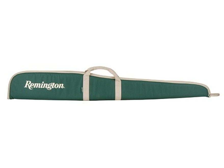 "Remington Shotgun Gun Case 52"" Nylon Green with Tan Trim"