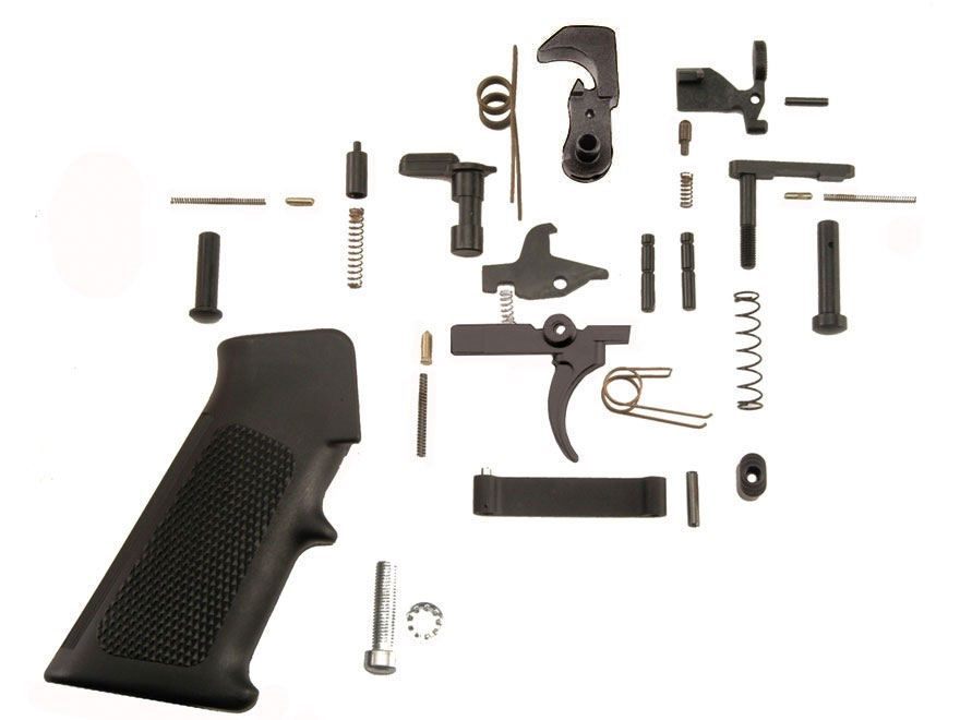 Del-Ton Complete Lower Receiver Parts Kit AR-15
