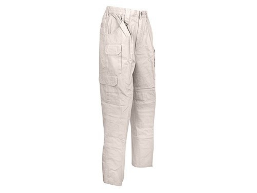 "Woolrich Elite Lightweight Pants Ripstop Cotton Canvas Khaki 40"" Waist 32"" Inseam"