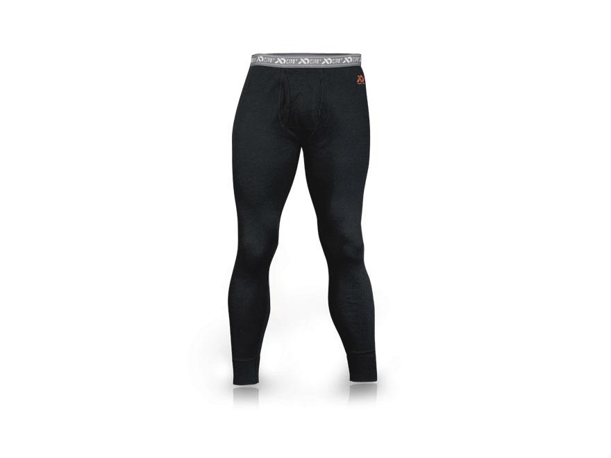 First Lite Men's Allegheny EXP Base Layer Pants Merino Wool Black 2XL 41-44