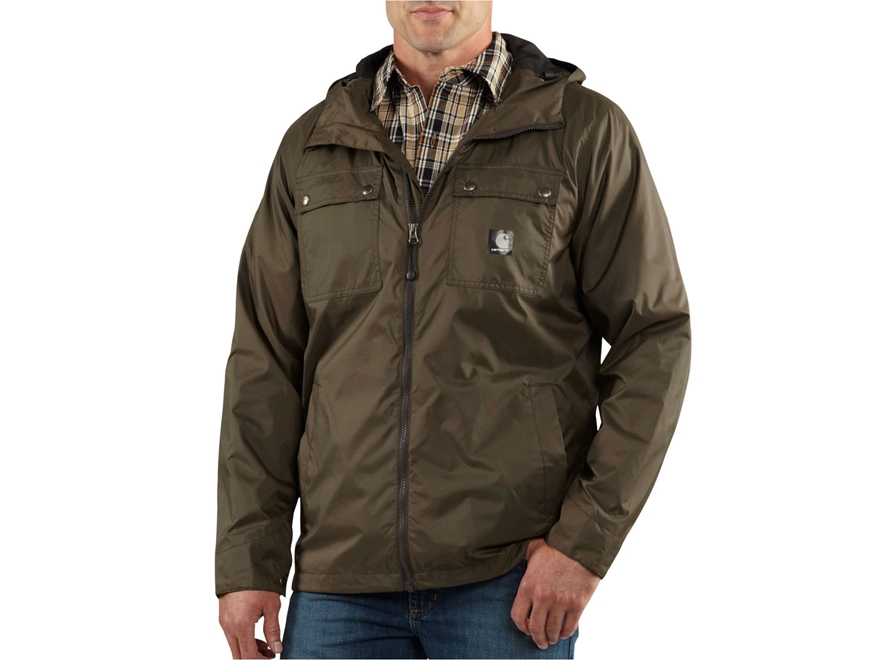 Carhartt Men's Rockford Hooded Jacket Nylon