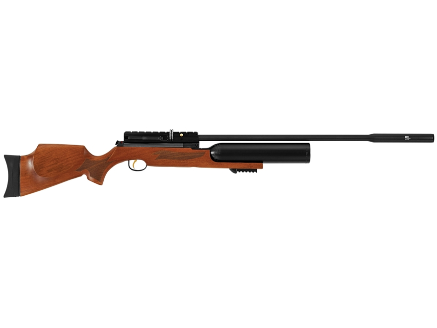 Hatsan Nova PCP Air Rifle Pellet Brown Walnut Stock Black Barrel