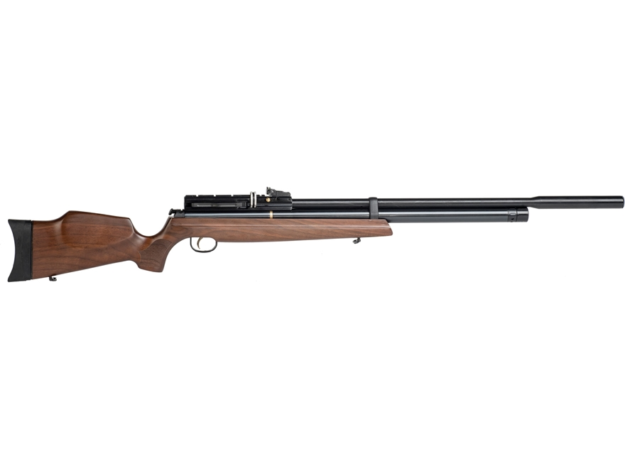 Hatsan AT4410 Long QE PCP Air Rifle Pellet Walnut Stock Black Barrel
