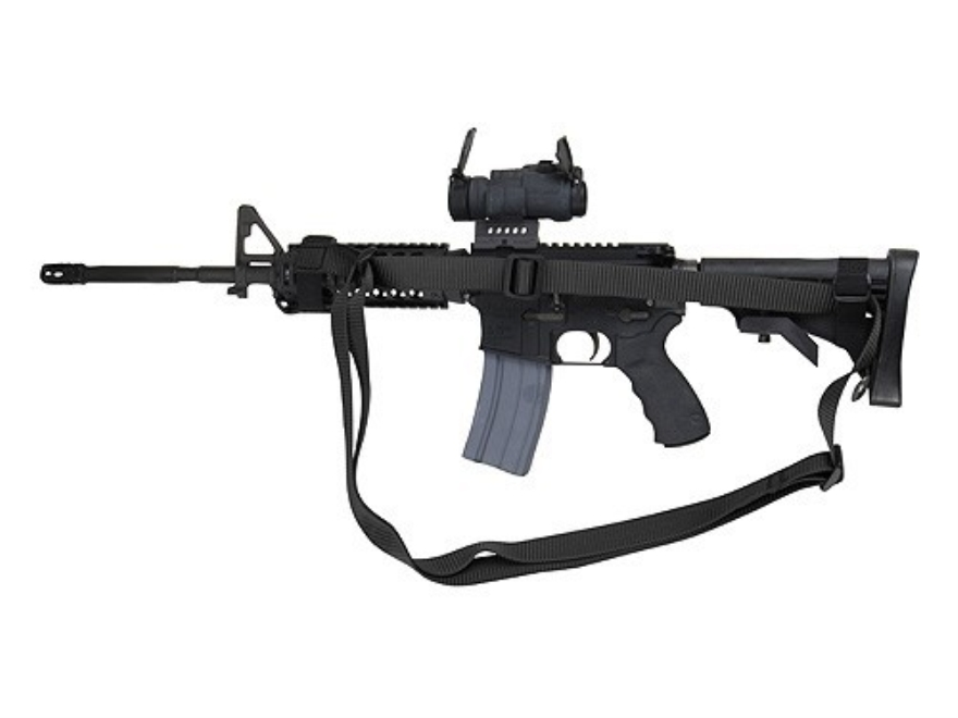 Wilderness Tactical Giles Sling AR-15 Collapsible Stock Round Handguard Nylon