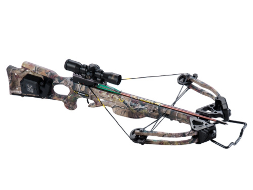 TenPoint Turbo XLT Crossbow Package with 3x Pro-View Scope and ACUdraw System Realtree ...