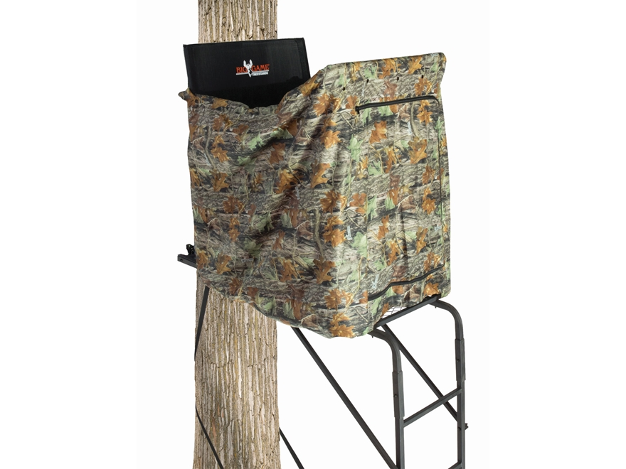 Amazon.com : BIG GAME The Maxim Ladder Stand, Black ...