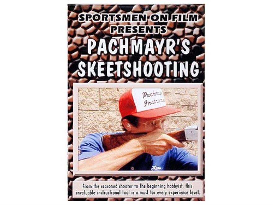 """Sportsmen On Film Video """"Pachmayr's Skeetshooting"""" DVD"""