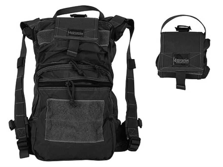 Maxpedition Rollypoly Extreme Collapsible Backpack Nylon Black