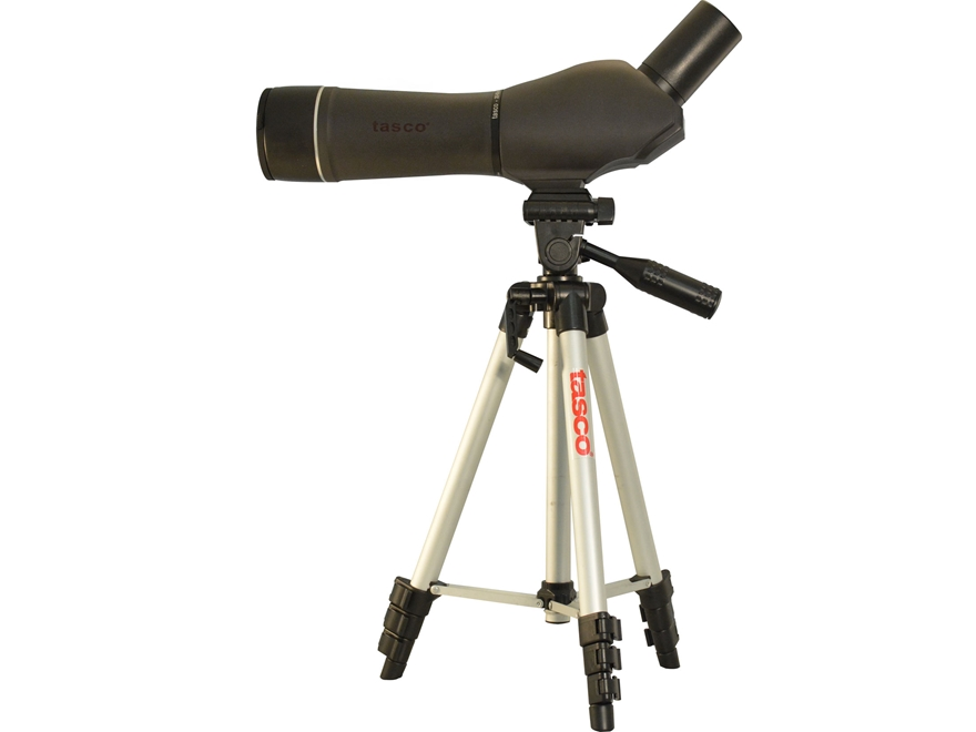 Tasco World Class Spotting Scope 20-60x 60mm with Tripod and Soft Case Armored Black
