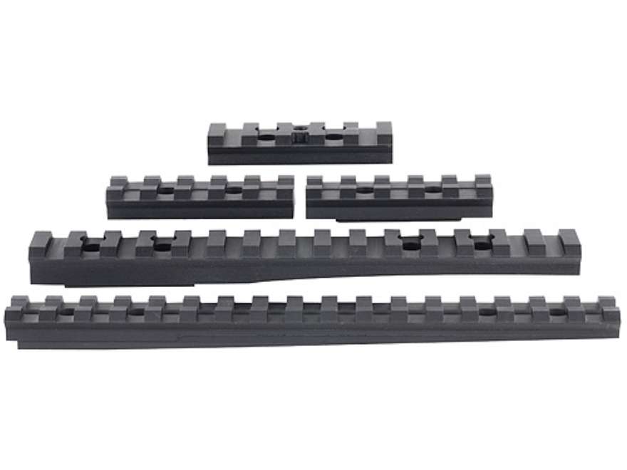 Advanced Technology 5-Piece Accessory Rail Package Fits ATI Strikeforce Stock for Ruger...
