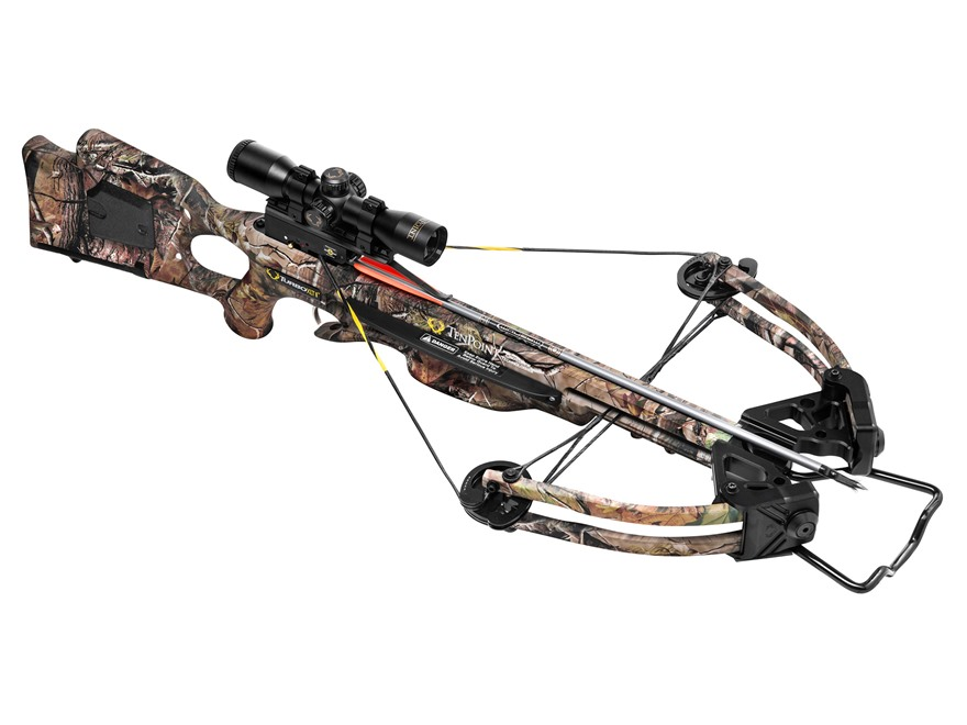 TenPoint Turbo XLT II Crossbow Package with 3X Pro-View Scope Realtree APG HD Camo