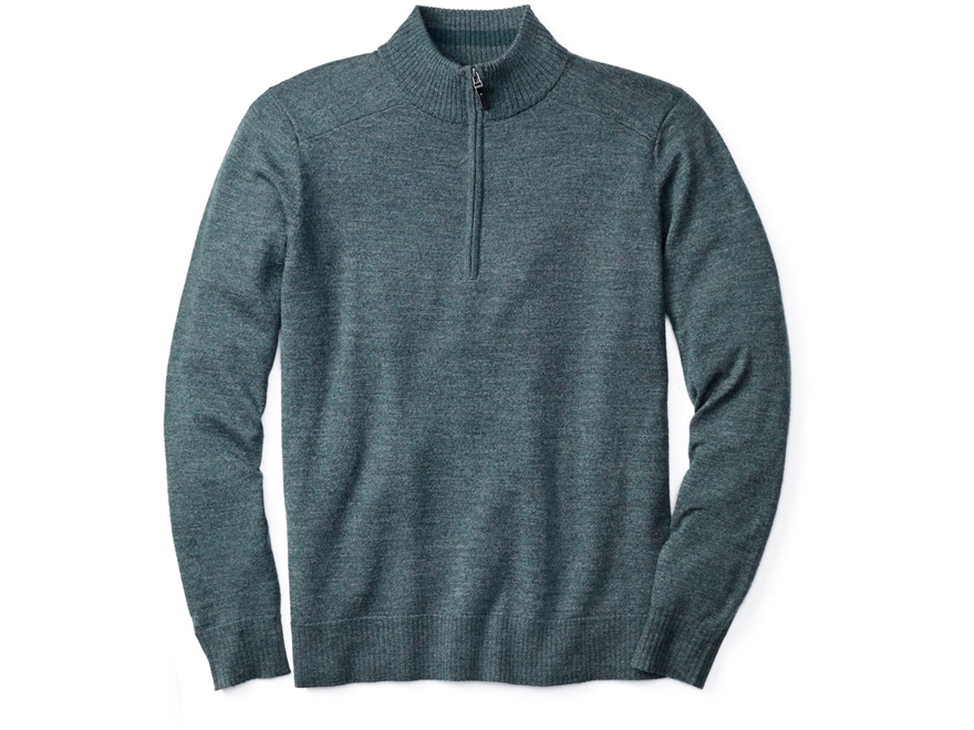 Smartwool Men's Kiva Ridge Half Zip Sweater Merino Wool/Nylon/Acrylic