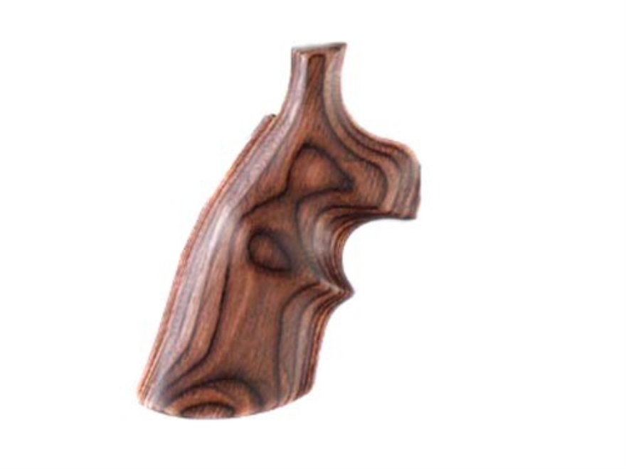 Hogue Fancy Hardwood Grips with Top Finger Groove Colt Anaconda, King Cobra