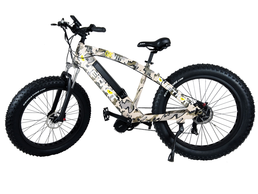 QuietKat 1000 Watt Motorized FatKat Bike