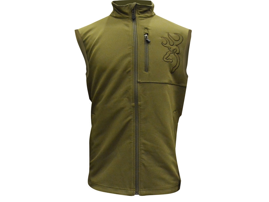 Browning Men's Hell's Canyon Mercury Scent Control Vest Polyester Capers XL