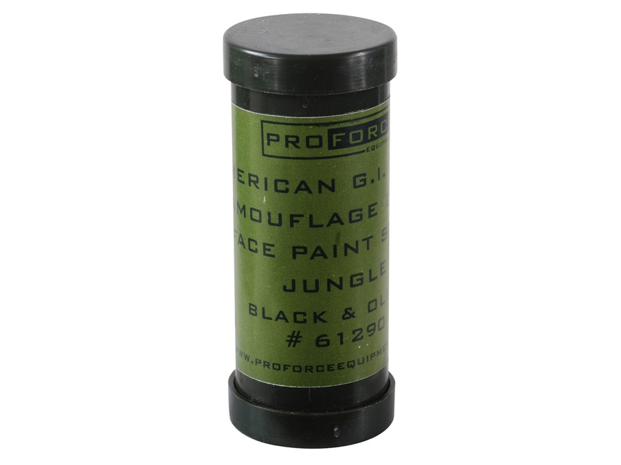 Proforce Camouflage Face Paint Jungle Green and Black