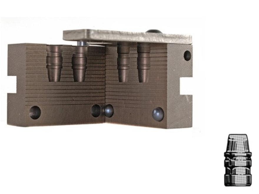Saeco 2-Cavity Bullet Mold #388 38 Special, 357 Magnum (358 Diameter) 158 Grain Semi-Wa...