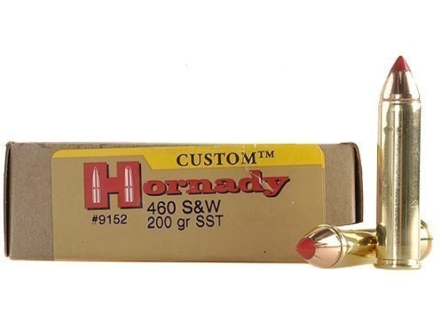 Hornady Custom Ammunition 460 S&W Magnum 200 Grain Flex Tip eXpanding Box of 20