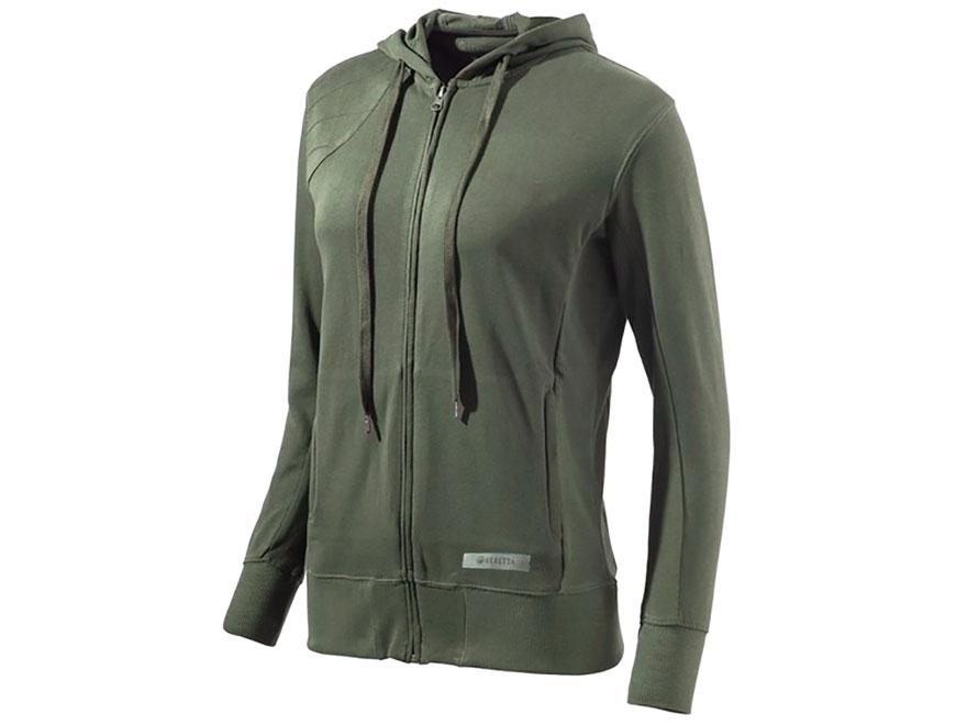 Beretta Women's Corporate Patch Sweatshirt Full Zip Cotton