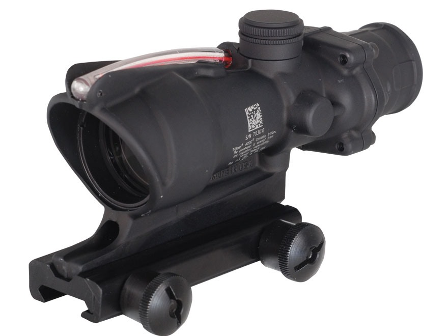 Trijicon ACOG TA31 BAC Rifle Scope 4x 32mm Dual-Illuminated Horseshoe Dot 223 Remington...