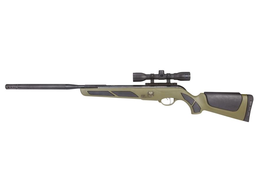 Gamo Bone Collector Bull Whisper IGT Break Barrel Air Rifle 177 Caliber Pellet Green Sy...