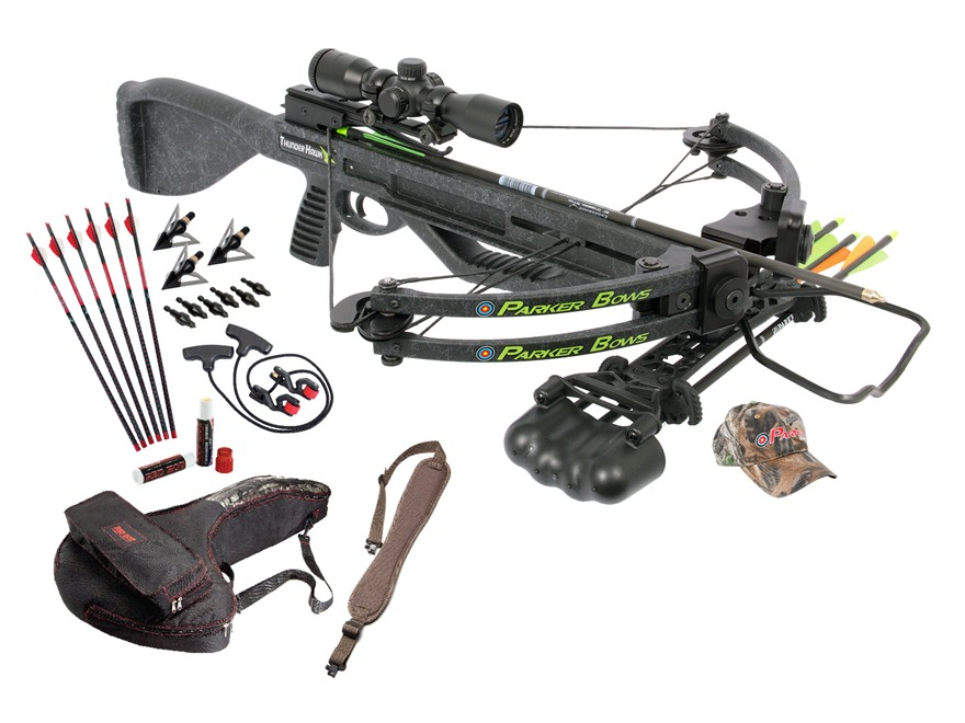Parker Blackhawk Perfect Storm Crossbow Package with Multi Reticle Illuminated Crossbow...