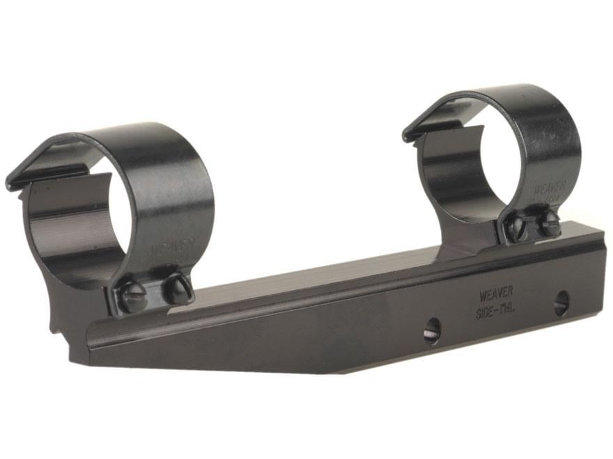"Weaver 1"" Detachable Side-Mount Rings Long-Style Gloss High"