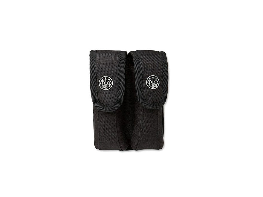 Beretta Tactical Double Magazine Pouch Nylon Black