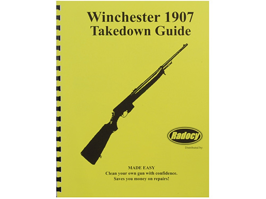 "Radocy Takedown Guide ""Winchester 1907"""