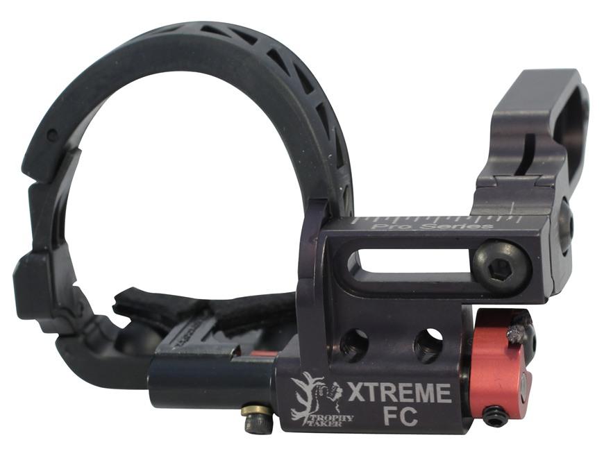 Trophy Taker X-Treme FC Pro Drop-Away Arrow Rest Right Hand Aluminum Black