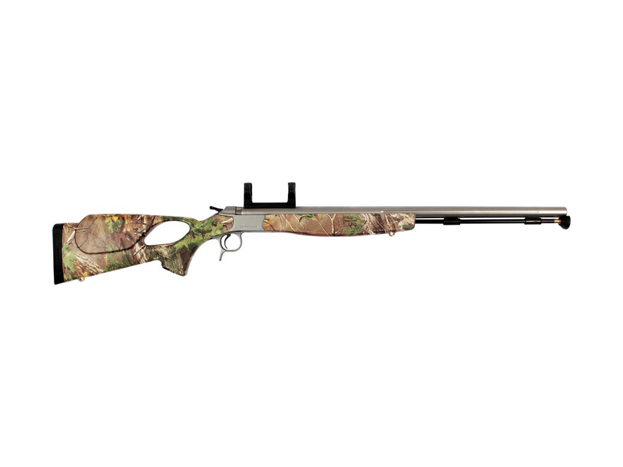 "CVA Optima V2 Muzzleloading Rifle with Dead-On Scope Mount 50 Caliber 26"" Stainless Ste..."