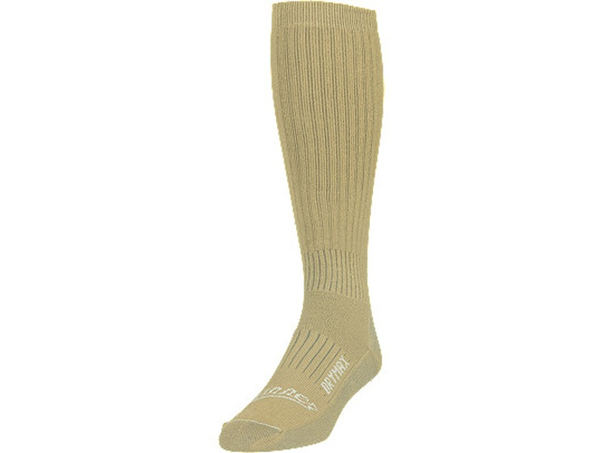 Danner Men's TFX Hot Weather DryMax Socks Synthetic Blend Desert Sand XL (13-15)
