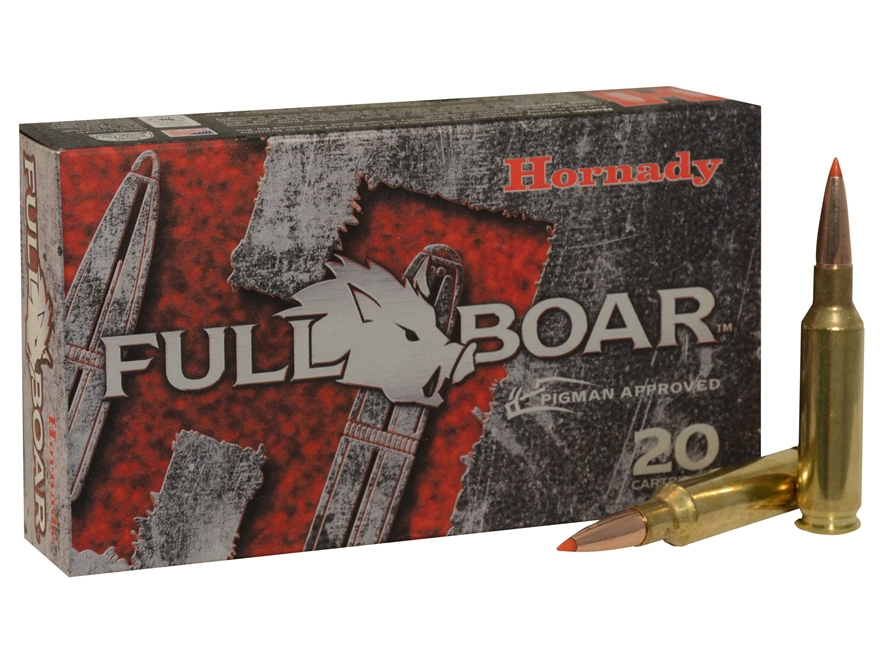 Hornady Full Boar Ammunition 6.5 Creedmoor 120 Grain GMX Boat Tail Lead-Free Box of 20