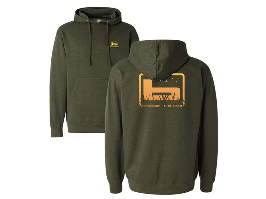 Banded Cattail Hoodie Polyester