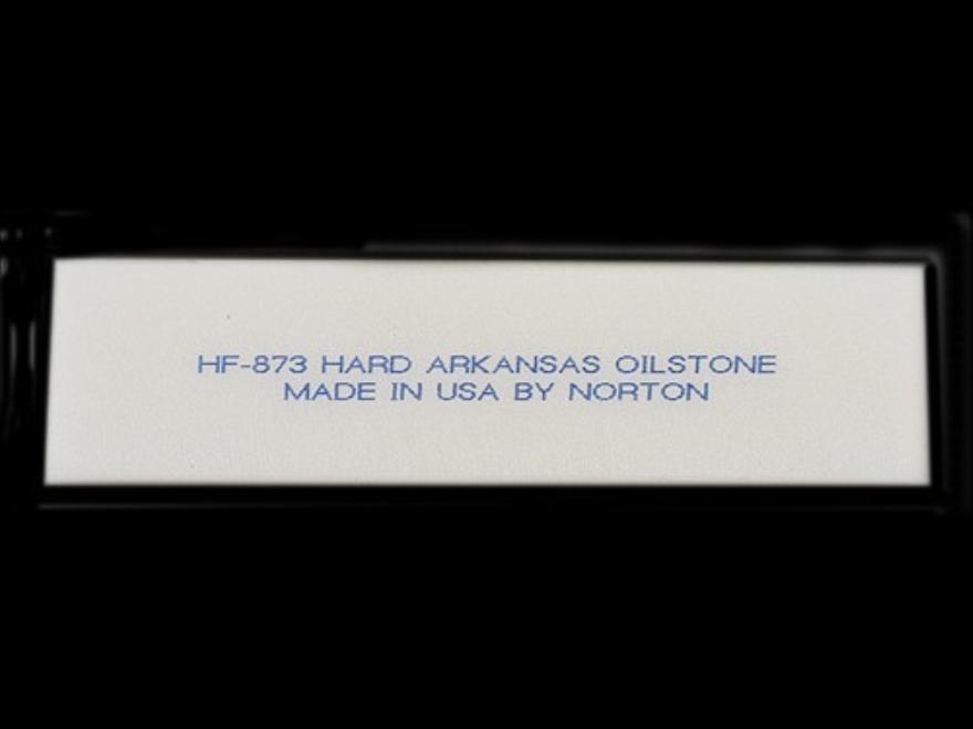 "Norton Hard Arkansas Sharpening Stone Knife Blade-Style 3"" x 3/4"" x 1/8"" Ultra-Fine"