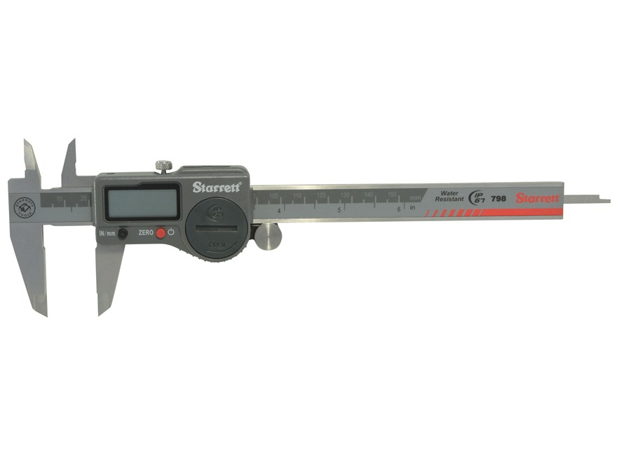 "Starrett 798 Digital Caliper 6"" Stainless Steel"