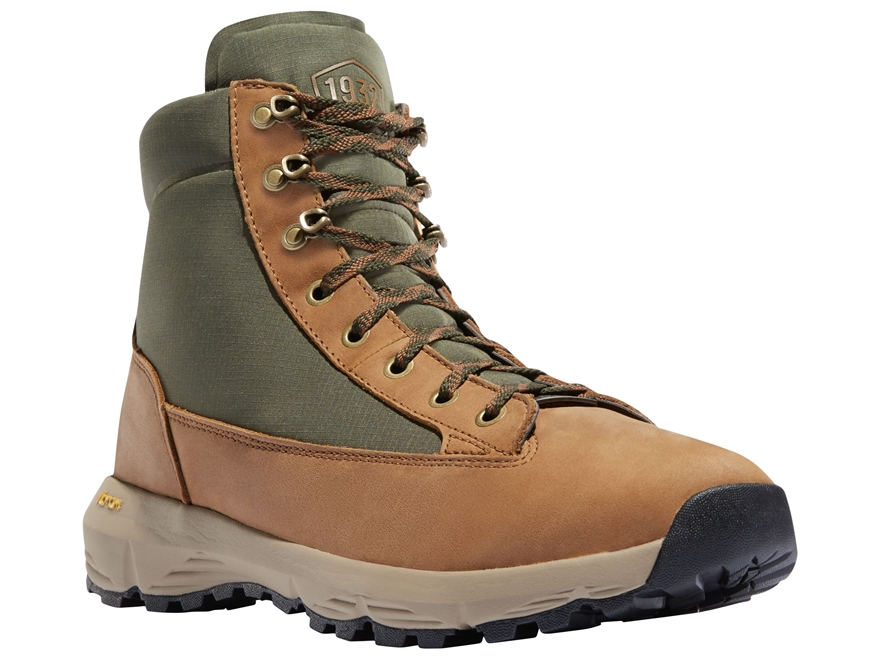"Danner Explorer 650 6"" Waterproof Hiking Boots Full Grain Leather/Nylon Brown/Green Men..."