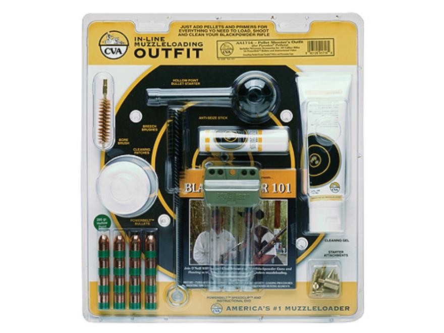 CVA Muzzleloading Accessory Outfit 50 Caliber Pellet Shooters